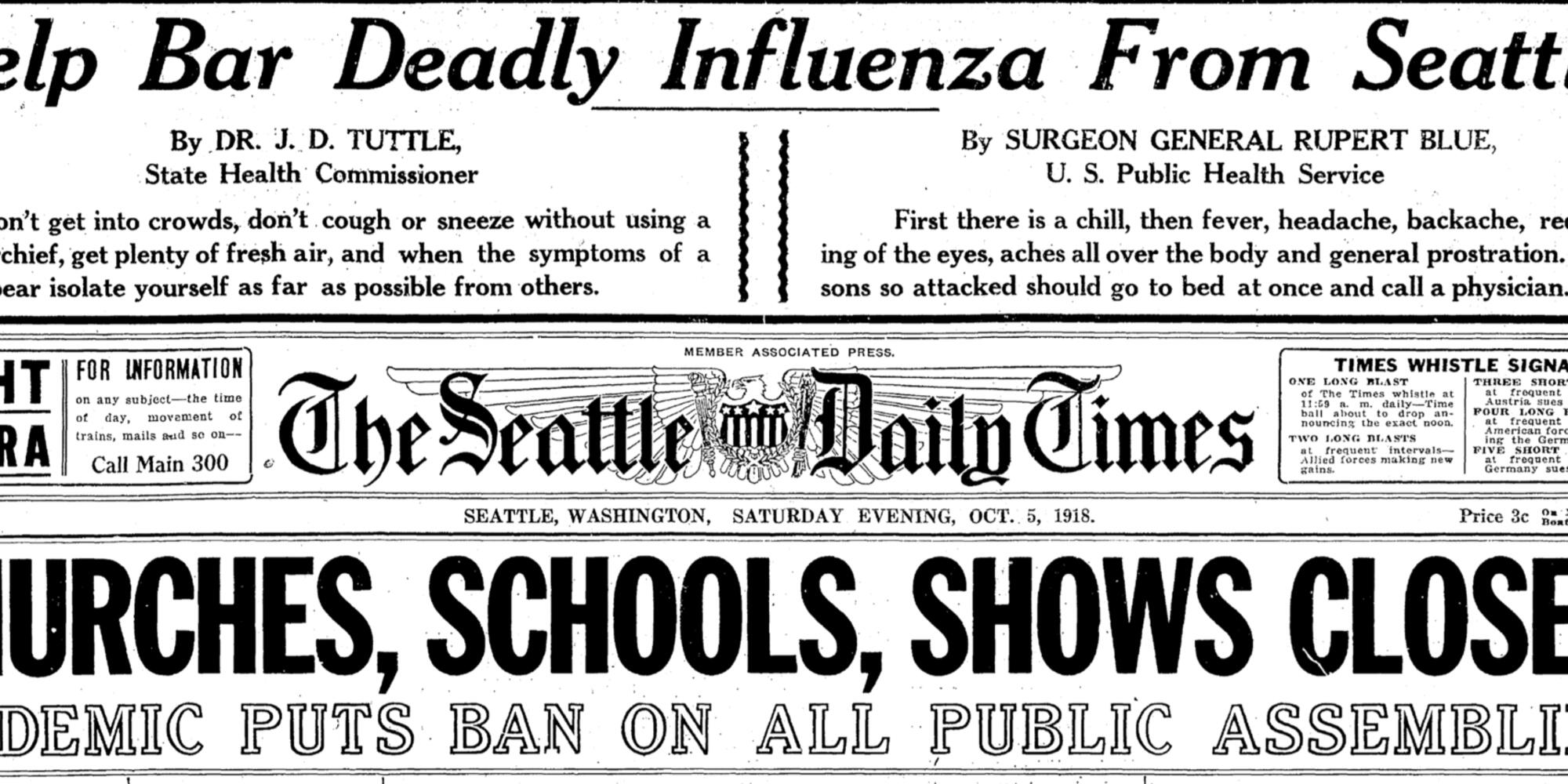 Podcast: Religion and Public Health during the 1918–1919 Spanish Flu