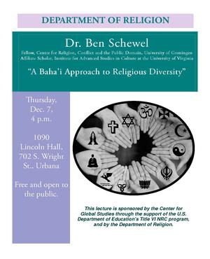 A Baha'i Approach to Religious Diversity
